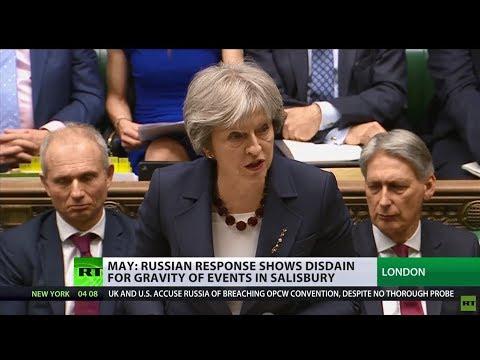 'Guilty until proven innocent': UK implements sanctions against Russia over Skripal case