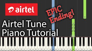 Airtel Tune Piano Tutorial | A R Rahman