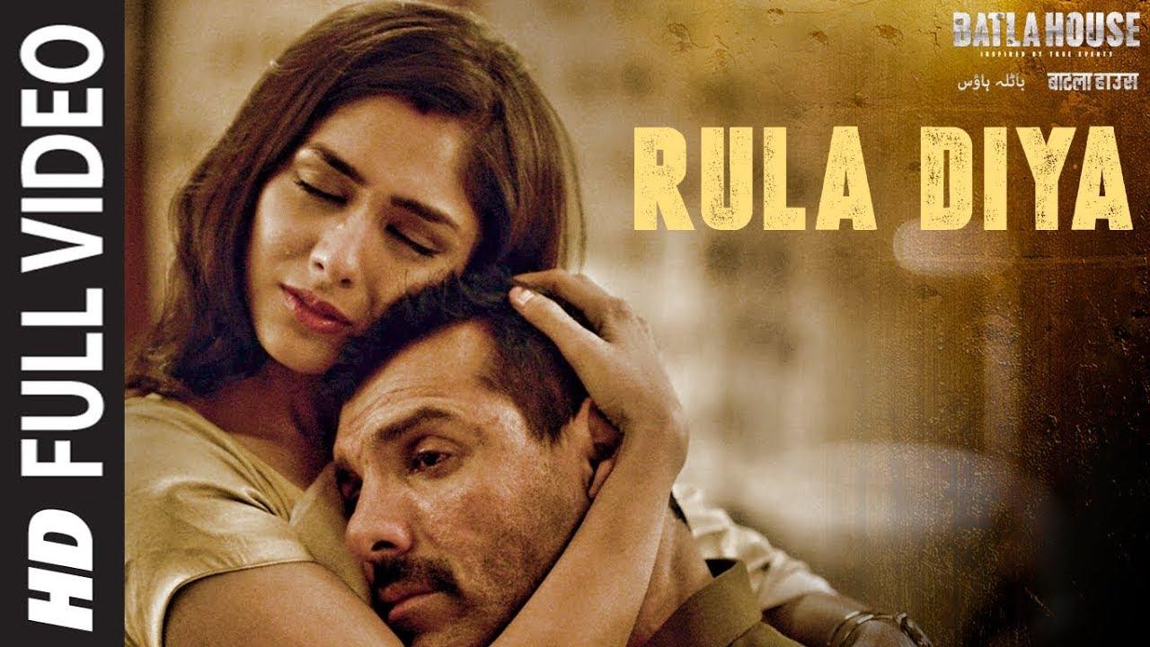 Download Full Video: Rula Diya | BATLA HOUSE |John Abraham, Mrunal T| Ankit Tiwari,Dhvani Bhanushali,Prince D