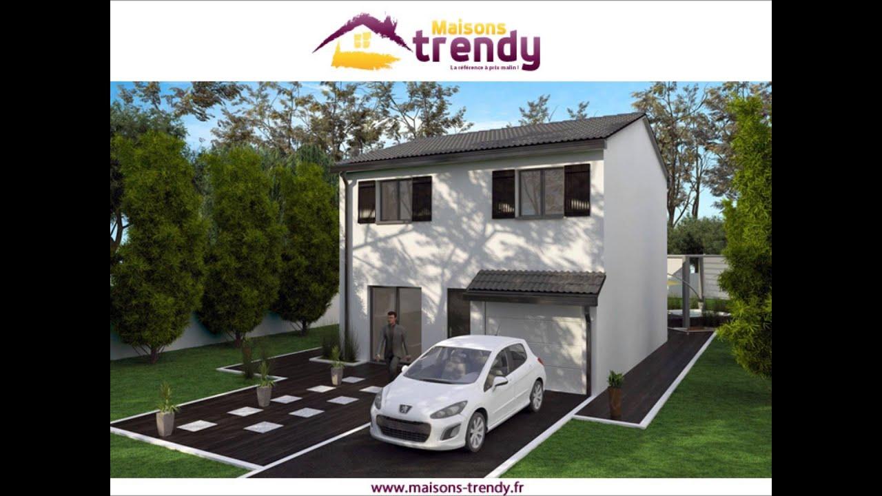 maisons trendy constructeur de maison prix malin youtube. Black Bedroom Furniture Sets. Home Design Ideas