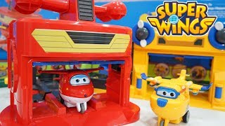 Mainan Anak Pesawat Terbang ✈ Super Wings Action Hangar Airplane Toys 💖 Jenica