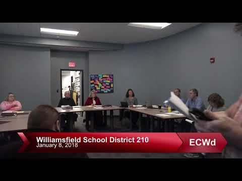 Williamsfield, IL. WCUSD #210 - 1 8 2018   Public Comment