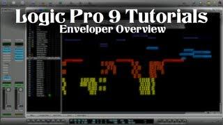 Logic Pro 9 Tutorial - Enveloper Overview
