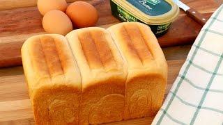 Homemade Chinese Bakery Milk Bread | Hokkaido Milk Toast | Shoku Pan Recipe | 湯種麵包