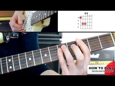 Seven Nation Army,Guitar Lessons London - London Guitar Academy