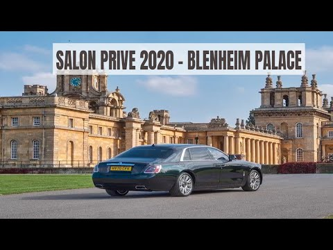 Salon Privé 2020 at Blenheim Palace - Most Exclusive UK Motoring Event