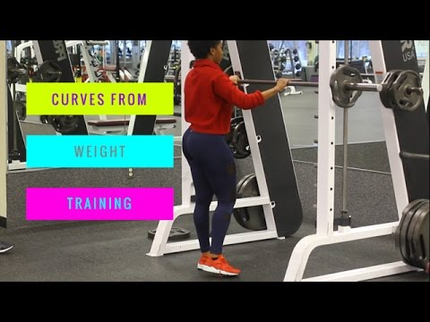 SCULPTING Curves With WEIGHT TRAINING