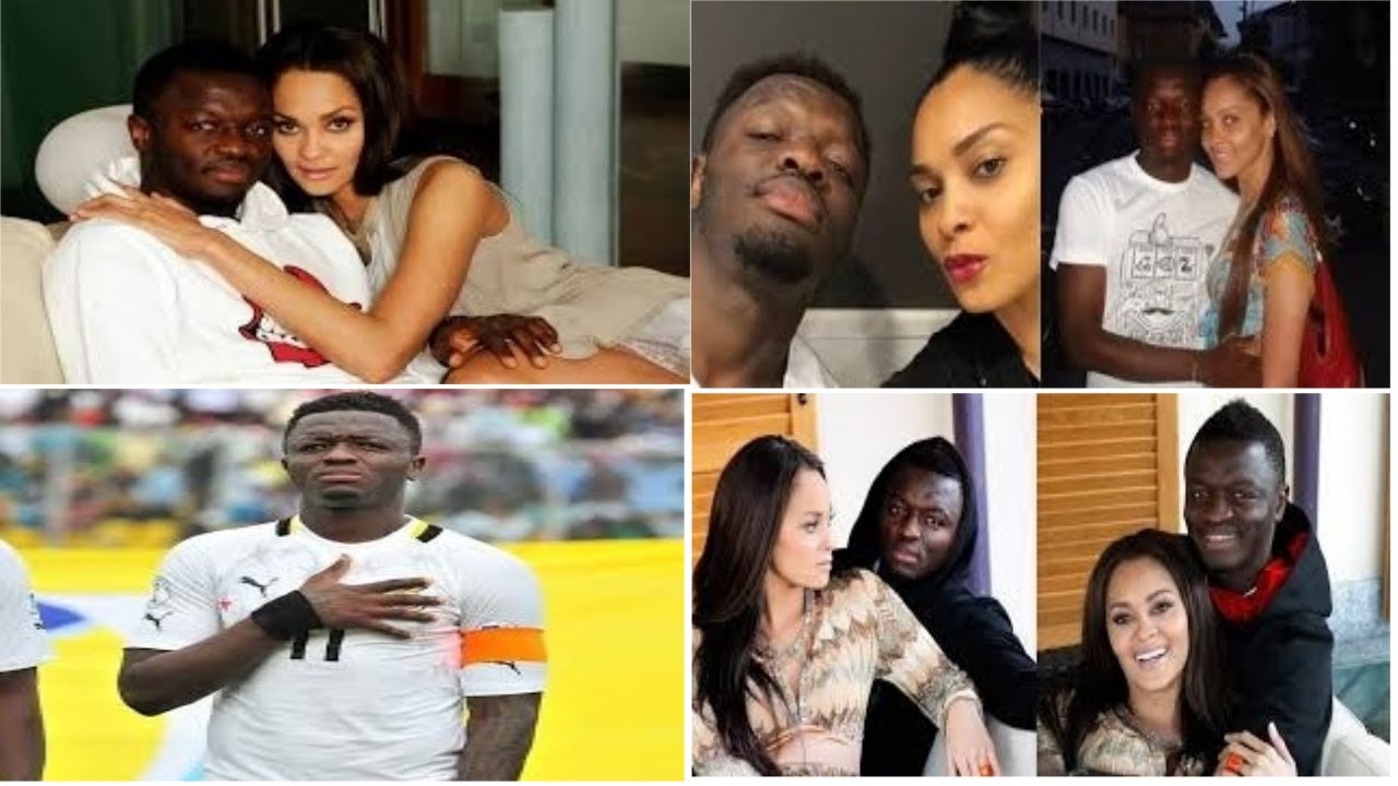 Sulley Muntari & Wife first ever live video on the net... see for yourself... - YouTube