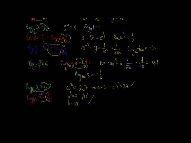A logaritmus fogalmának bevezetése 3