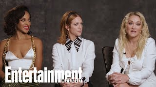 Almost Family39s Emily Osment Brittany Snow amp Megalyn Echikunwoke On New Show  Entertainment Weekly