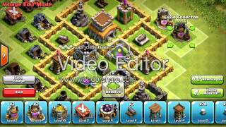 "Town Hall 6 Trophy Base ""The Corner"" Clash Of Clans Speed Build"