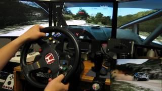 WRC 3 - Triple screen - Sardegna - Ford Fiesta