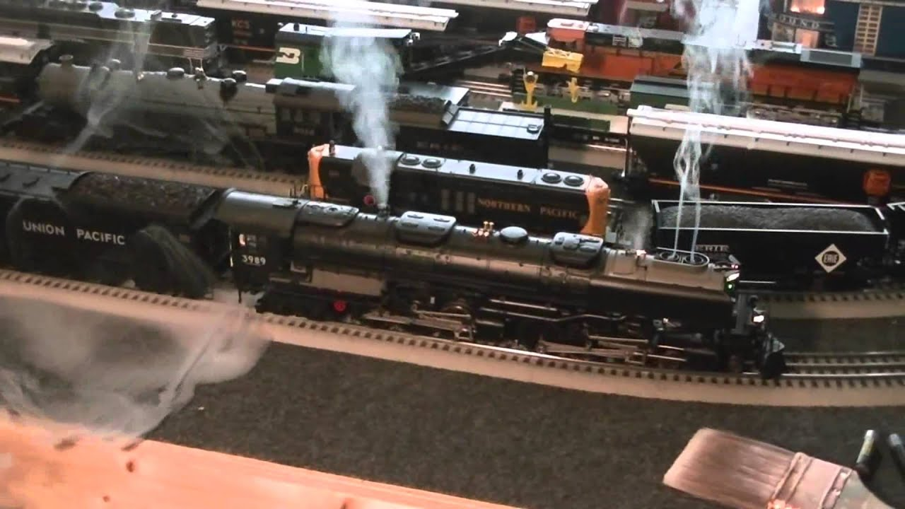 Challenger Share Price >> Lionel Vision line Challenger with fixed smoke unit - YouTube