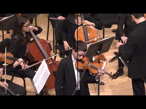 Simon Hagopian Rogers, violin - 2018 Kaufman Music Center Concerto Competition Winners' Concert