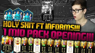 FIFA 16: PACK OPENING (DEUTSCH) - FIFA 16 ULTIMATE TEAM - OH SHIT 1 MIO BEST OF! GRIEZMANN IF & CO!