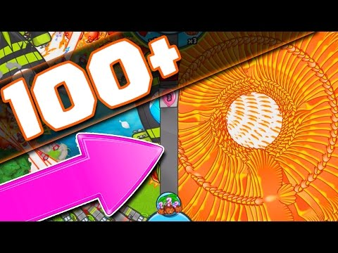 THIS WAS INSANE  :: Bloons TD Battles  ::  ALL WIZARDS!