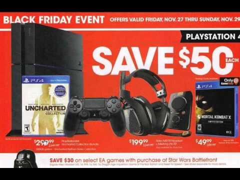 Black Friday 2015 Gamestop Leaked Ads Deals Youtube