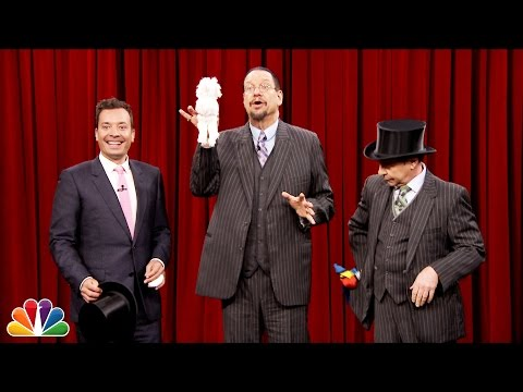 Thumbnail: Penn and Teller Show Jimmy How to Pull a Rabbit Out of a Hat