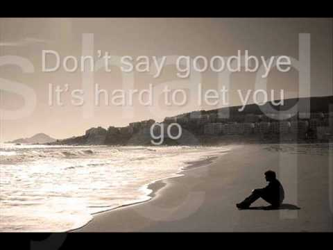 Dont Say Goodbye (hard to let you go) w/ lyrics Pops Fernandez