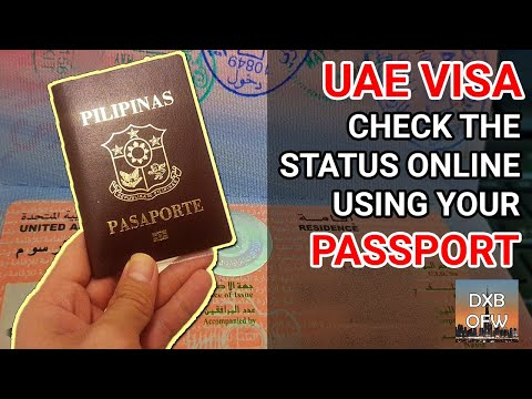 How To Check UAE Visa Status Online Using Passport