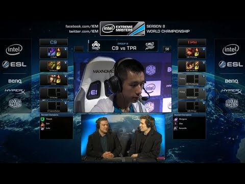 Cloud 9 vs Taipei Assasins | IEM Katowice WC LOL 2014 Group B Round 2 | C9 vs TPA