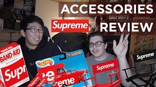 REACTING TO THE SUPREME SS19 ACCESSORIES!!!