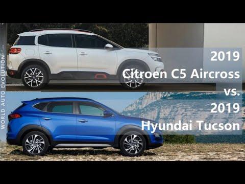 2019 Citroen C5 Aircross Vs 2019 Hyundai Tucson (technical Comparison)