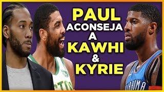 Paul George aconseja a Kawhi Leonard y Kyrie Irving sobre los Lakers | NBA Lakers En Español