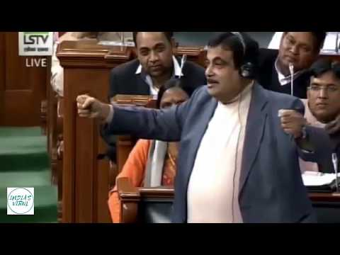 Nitin Gadkari   Best Speech Ever
