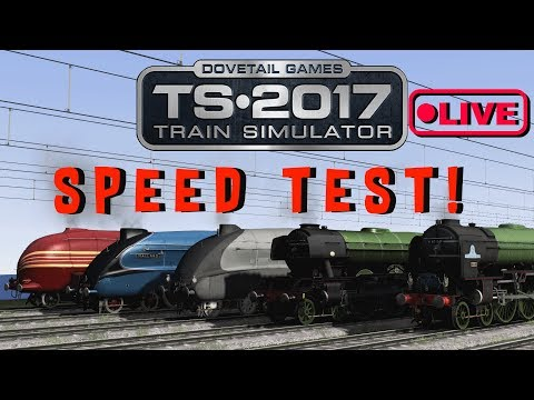 train simulator 2017 speed test the last one live stream youtube. Black Bedroom Furniture Sets. Home Design Ideas