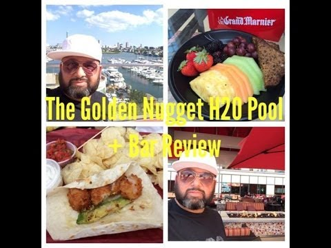 The Golden Nugget Casino H20 Pool + Bar Atlantic City. Review By Bobby DoTube