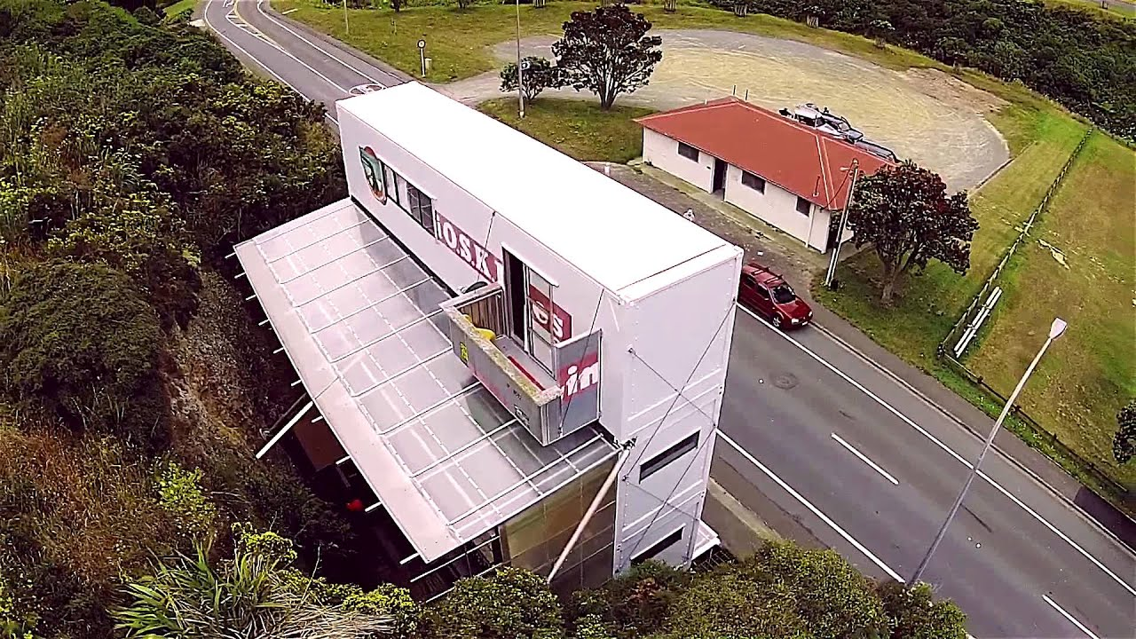 wellington container house - youtube