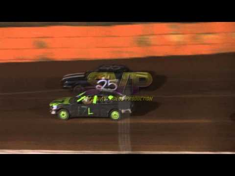 100 Lap Enduro @ Volunteer Speedway 10/10/15 / 2 Camera Angles