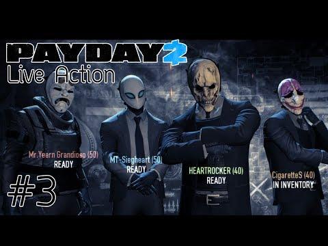 [Live Action] PAYDAY 2 - ปล้นแหลกแหกค่าย #3