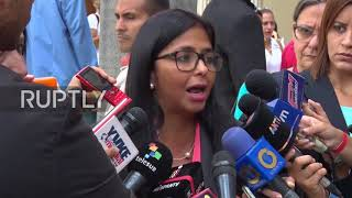 Venezuela: Constituent Assembly leader vows to 'coexist' with opposition-led Congress