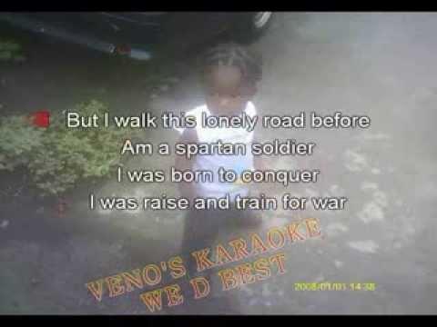 TOMMY LEE   SPARTAN SOLDIER KARAOKE