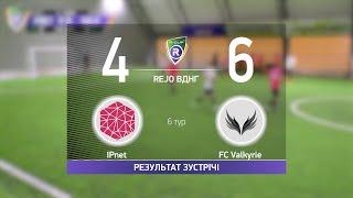 Обзор матча IPnet 4 6 FC Valkyrie Турнир по мини футболу в городе Киев