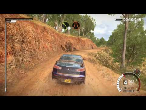 DIRT 4  PC Australia, Mitsubishi - Distracted by Graphics !