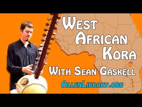 West African 300 Year Old Kora Performance