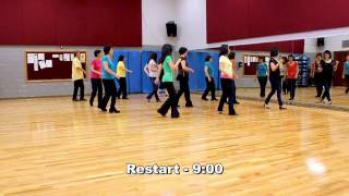 Celtic Teardrops - Line Dance (Dance & Teach in English & 中文)