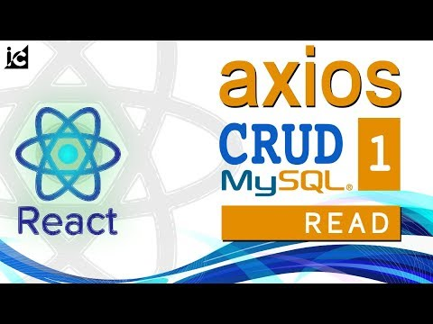 React - AXIOS  CRUD (#1) - READ - Membaca Data - Setup Project thumbnail
