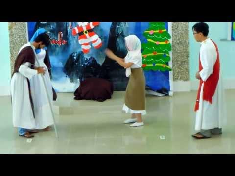 Họa cảnh giáng sinh & múa tiếng hát thiên thần