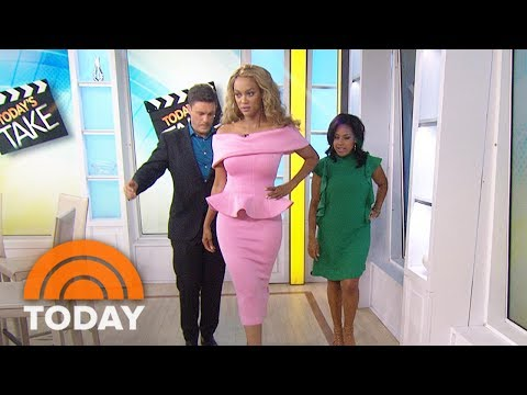 Tyra Banks : 'Shake Your Booty' When You Do The Perfect Walk  | TODAY