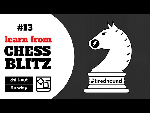 Post-Marathon recovery | Learn from chess blitz #13 on lichess.org