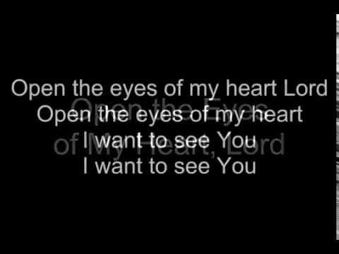 OPEN THE EYES OF MY HEART (KARAOKE/INSTRUMENTAL from Praise Baby))