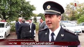 В Ужгороді гостювали поліцейські з Чехії