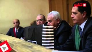 فض الأحراز في محاكمة وزير الزراعة السابق بتهمة الرشوة (اتفرج)