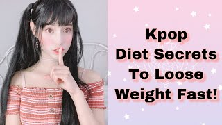 5 Kpop Diet Tips To Loose Weight Fast!