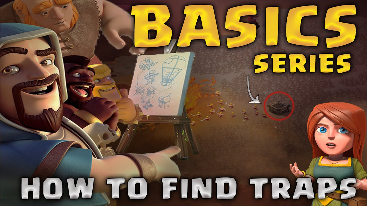 How to Find Traps | Basics Guide | Clash of Clans