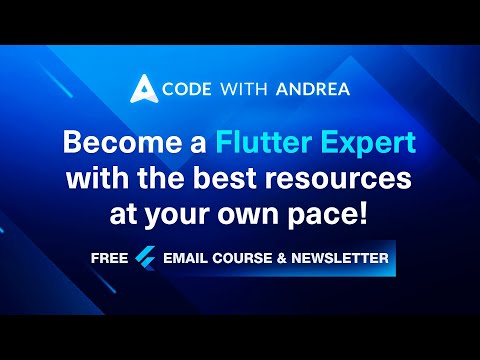 Launching: Free Flutter Email Course & Newsletter